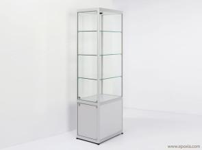 Armoire vitrine en verre Pictor