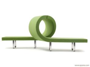 Système d'assises rembourrées Longway - L