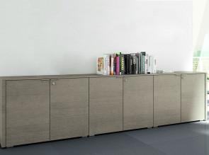 Armoire Métar Chêne gris, hauteur 78,6 cm