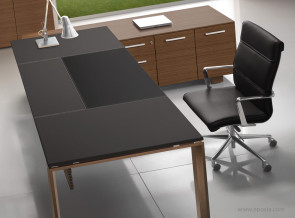 Bureau collection Arche cuir