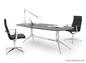 Bureau assis debout electrique réglable en hauteur epoxia
