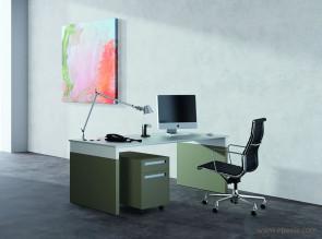 Bureau opérateur bicolore Work Space