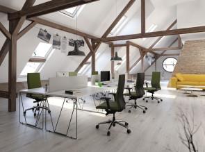 Bureaux design pour openspace Let's Work