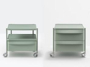 Caisson mobile Boxie H.46 cm, 1 ou 2 tiroirs