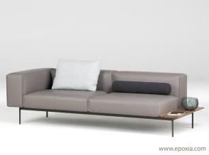 Canapé Convert modulaire et original, tissu ou cuir