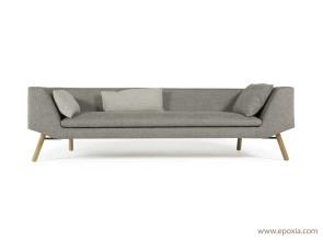 Canapé gris design Combine