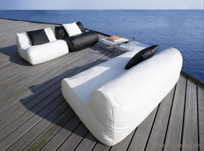 Canapé et fauteuil outdoor Fluid
