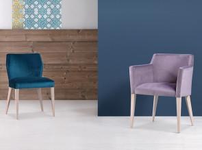 chaise et fauteuil de la collection Jasy
