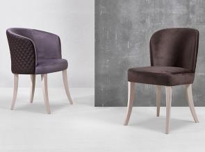 Chaises et fauteuils de la gamme Mary