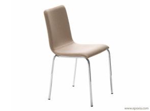 Chaise de réunion tissu avec rembourrage Passepartout