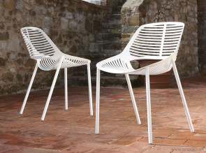 Chaises outdoor design Niwa