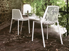 Chaises outdoor en aluminium Rion