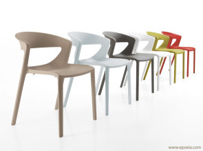 Chaises design Kicca One