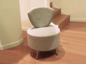 Petit fauteuil tissu Bulle
