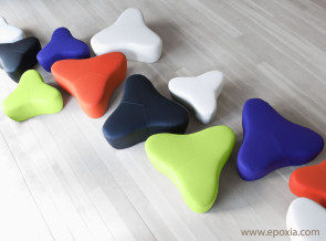 Collection poufs Chat
