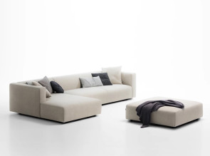 Canapé d'angle et pouf Match