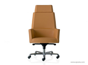 Fauteuil direction web cuir