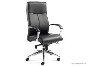 Fauteuil direction LX400 cuir noir