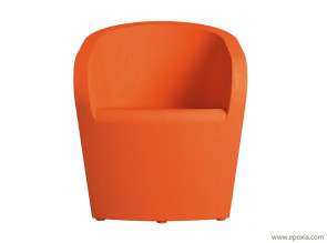 Fauteuil outdoor orange Syt