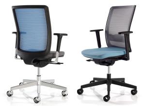 Fauteuils de bureau ergonomiques Intuitiv