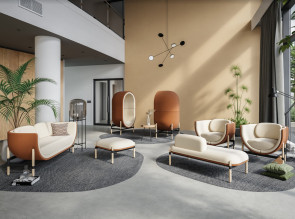 Collection de fauteuils et sofas Capsule, Capsule Lounge et Capsule Bench