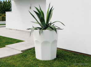 Grand pot design Cubalibre blanc