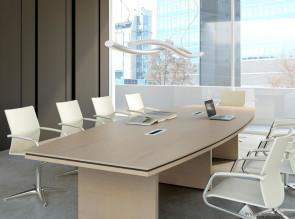 Table de conférence tonneau Status
