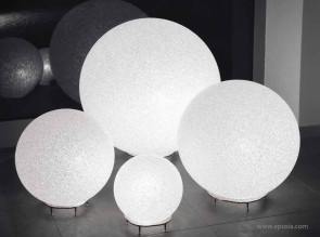 Lampes IceGlobe de différents diamètres