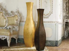 Pots décoratifs Lolita en acier