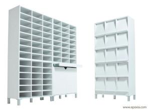meubles de tri courrier par epoxia. Black Bedroom Furniture Sets. Home Design Ideas