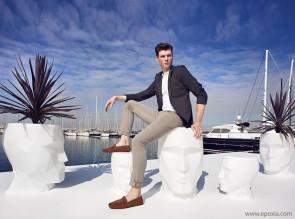 Pots outdoor Adan par Teresa Sapey pour Vondom