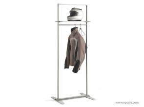 Porte manteaux epoxia mobilier for Porte cintre sur pied