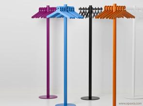Portemanteaux colorés Pole