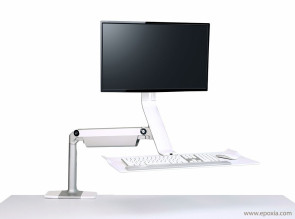 Solution de travail assis/debout Quickstand Lite