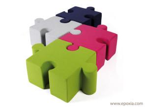 Pouf puzzle Buzzispace