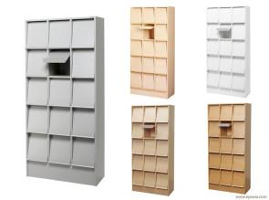 Meuble présentoir pour documents largeur 83 cm