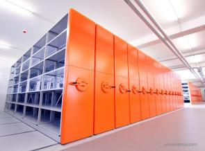 Rangement gain de place Innerspace orange