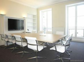 Table de réunion réalisation client