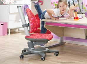 Chaise de bureau enfant Maximo tissu Wonderland