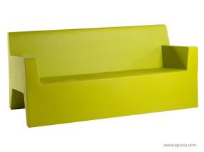 Canapé extérieur-intérieur jut vert