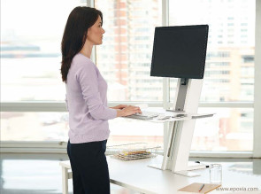 Solution de travail assis-debout Quickstand
