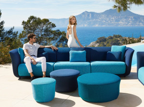 Canapés collection Suave outdoor par Vondom