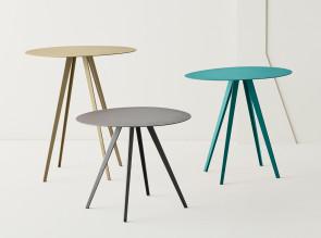 Trio tables basses d'appoint Agora 3 hauteur
