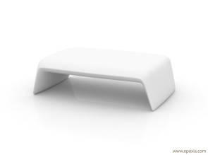 Table basse lumineuse pour terrasse Blow