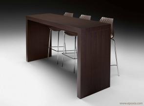 Table haute de restauration Deck