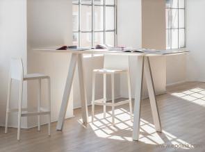 Table de réunion haute Arki