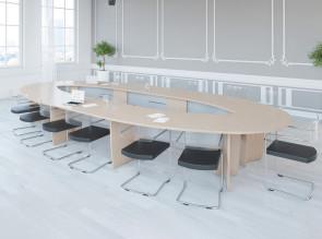 Table de réunion modulaire Succès