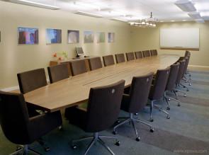 Table de réunion bois Intensive