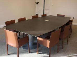 Table de réunion avec fauteuils Pasqualina