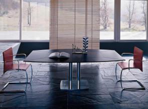 Table de réunion collection Land cuir